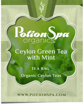 Ceylon Green Tea with Mint Tea