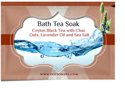 Ceylon Black Tea with Chai Bath Tea Soak