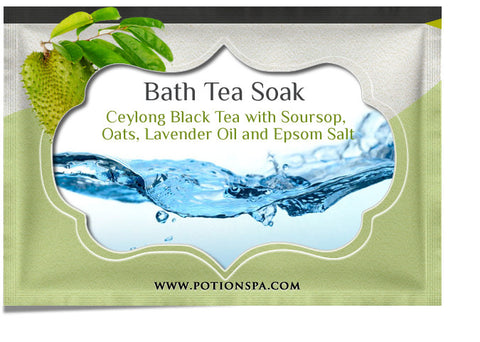 Ceylon Black Tea with Soursop Bath Tea Soak