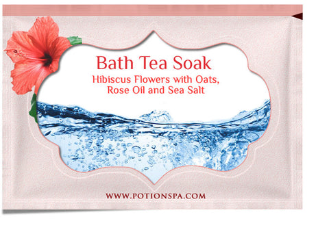 Ceylon Tea with Hibiscus Bath Tea Soak