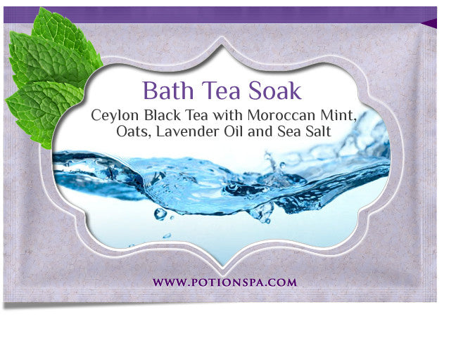 Ceylon Tea with Moroccan Mint Bath Tea Soak