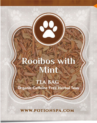 Rooibos with Mint Tea (Caffeine Free)