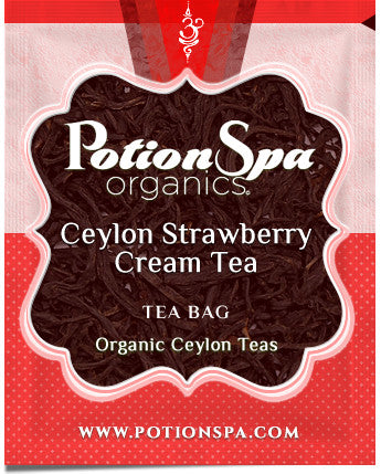 Ceylon Strawberry and Cream Tea