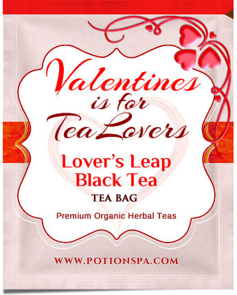 "Designer ""Valentines is for Tea Lovers"" Teas"