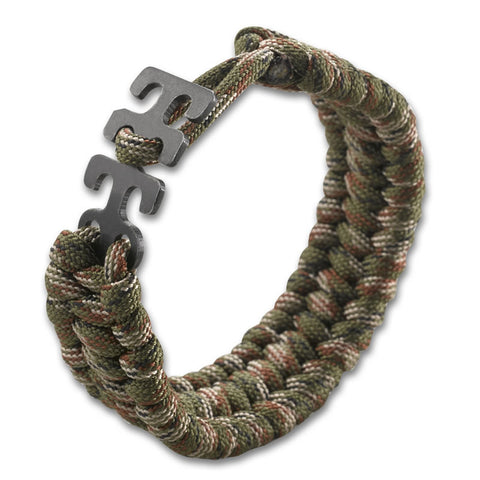 Adjustable Paracord Bracelet - Camo