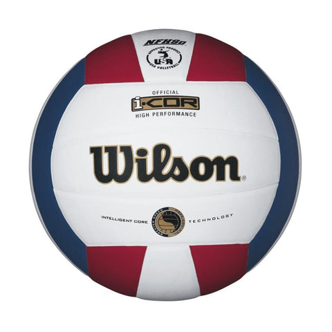 Wilson i-COR High Performance Volleyball Red-White-Blue
