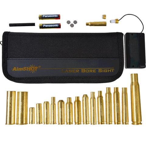 AimShot KT-Master-Red Laser Bore Sight Rifle Master Kit