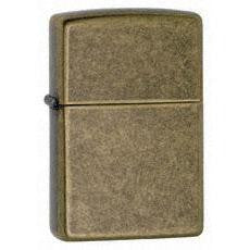 Zippo Antique Brass Lighter    Brass 201FB