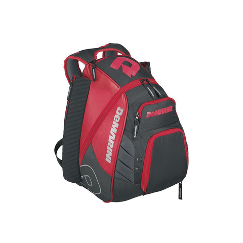 DeMarini Voodoo Rebirth Baseball Backpack-Scarlet
