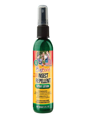 BugBand Insect Repellent Spray Lotion 3oz (Case of 12)