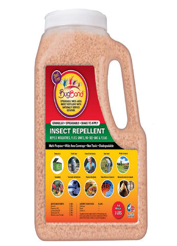 BugBand Insect Repellent Shaker Bottle 3lb