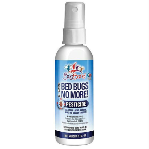 BugBand Bed Bugs No More 3oz Pump Spray (Case of 12)