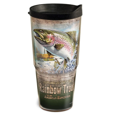 American Expedition 24oz Two-Tier Tumbler - Rainbow Trout