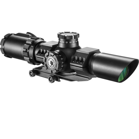 Barska 1-6x32 IR SWAT-AR Rifle Scope with Red-Green Reticle