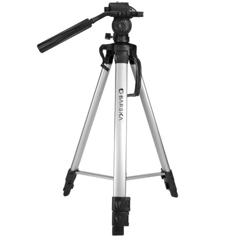 "Barska Deluxe Tripod Extendable to 63.4"" w-Carrying Case"