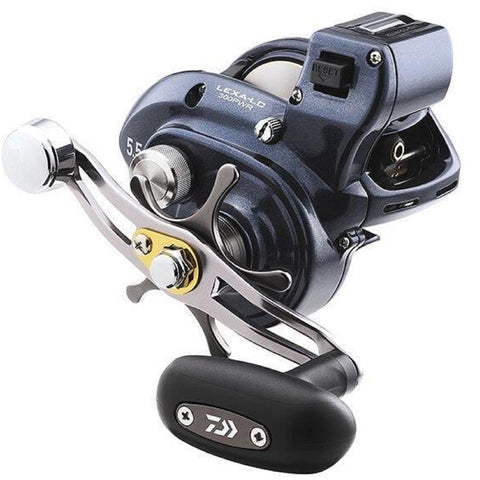 Daiwa Lexa 300 Line Counter Baitcasting Reel -Left Hand