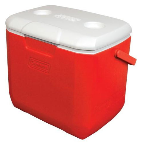 Coleman 30 Quart Red-White Personal Cooler 3000002001