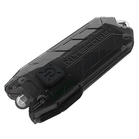 Tube RL Rechargeable Keychain Light, Black, 13 lm, Li-ion