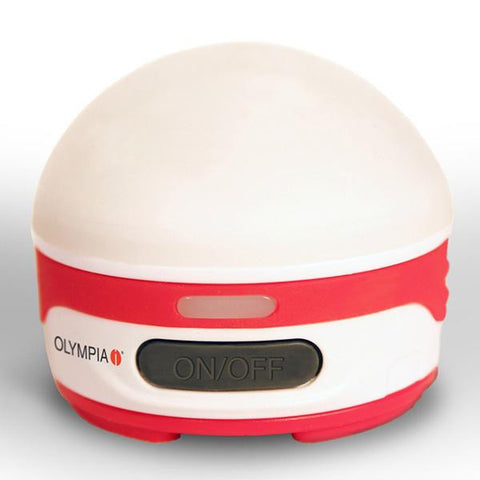 Olympia Rechargeable Lantern White-Red