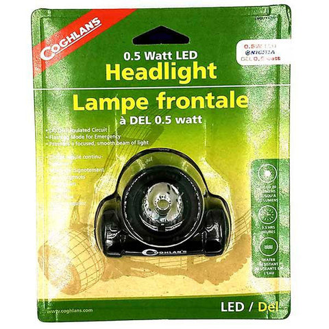 Coghlan .5 Watt LED Headlight Black