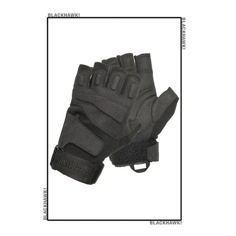 Blackhawk S.O.L.A.G Half-Finger Gloves Black Large
