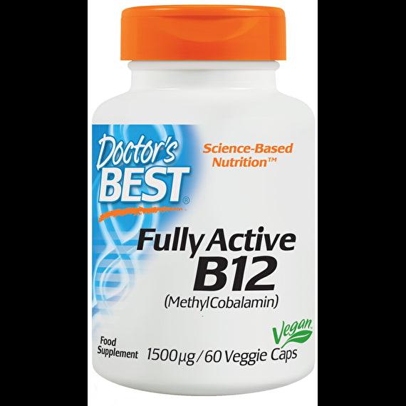 Doctor's Best Fully Active B12 15mg 60 Veggie Caps