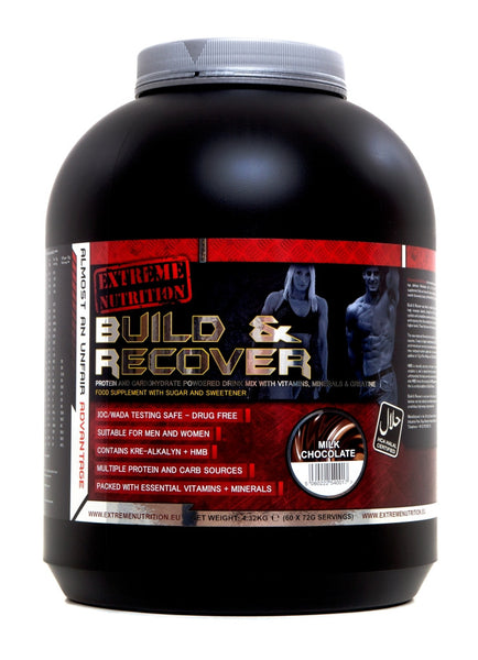 Extreme Nutrition Build & Recover 4.3kg