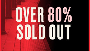 News just in! Over 80% of tickets have sold..