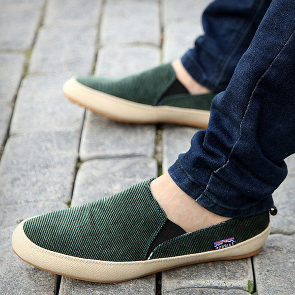 Green Casual Loafers
