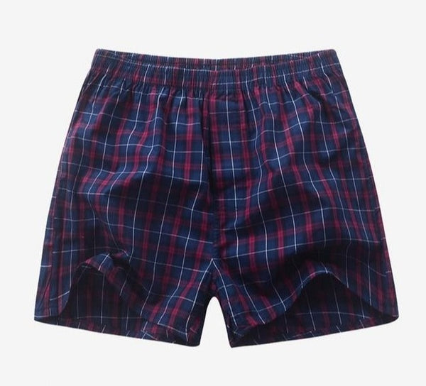 Plaid Boxer Shorts