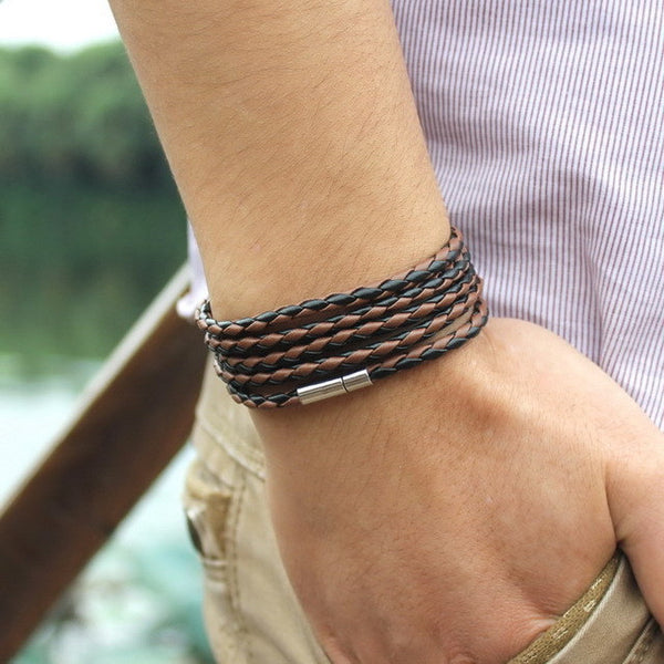 Black Coffee Rope Bracelet