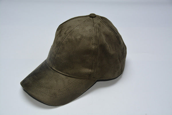 Army Green Suede Cap