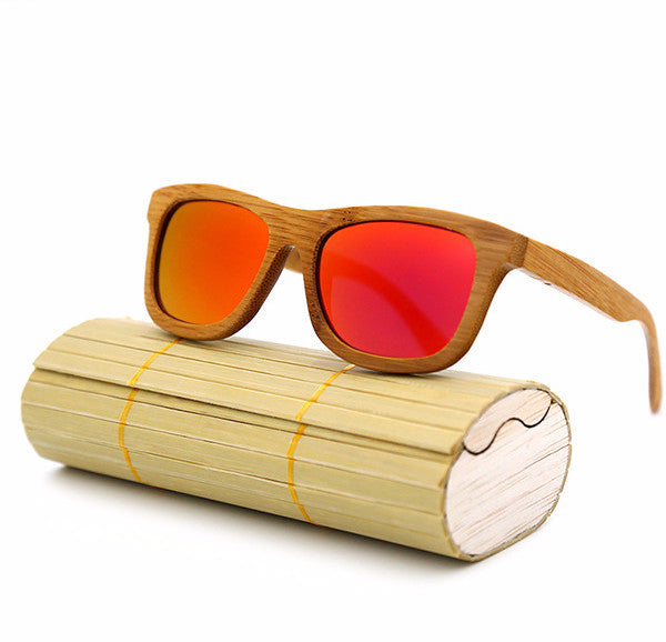 Flame Bamboo Sunglasses