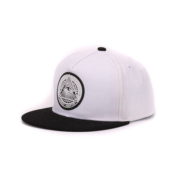 White Illuminated Cap