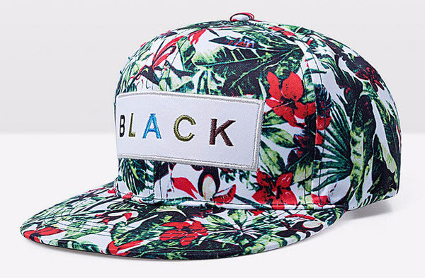 Jungle The BLACK Snapback Range