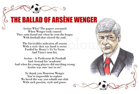 The Ballad of Arsène Wenger