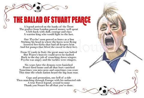 The Ballad of Stuart Pearce