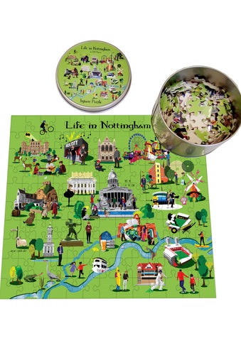 Life in Nottingham Jigsaw