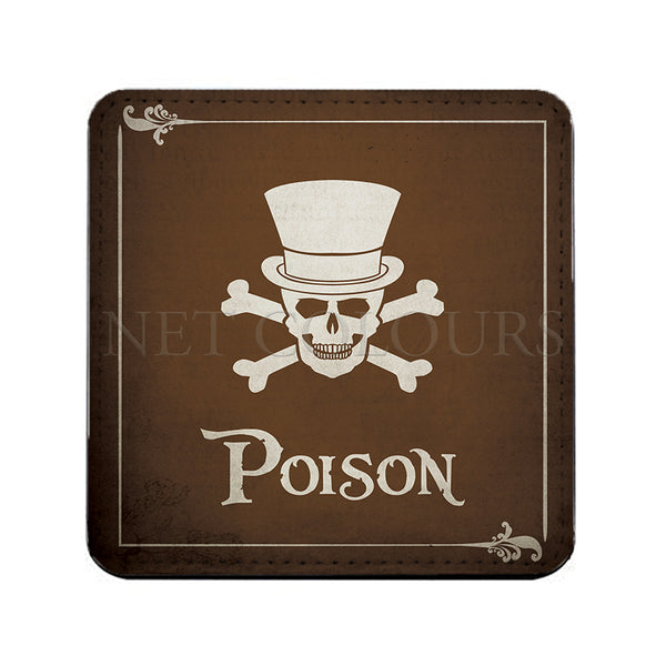 Personalised Poison Drinks Coaster