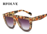 RFOLVE Latest Fashion Flat Top Style Designer Sunglasses