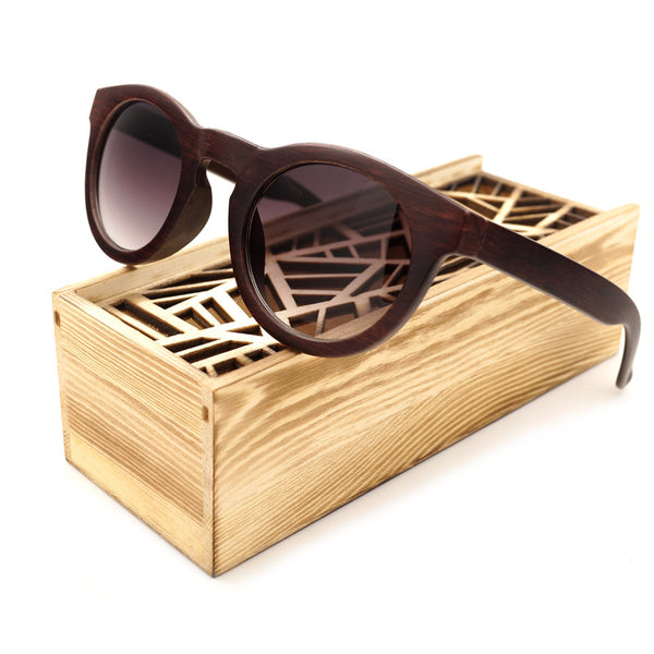 Retro Vintage BoBo Bird Bamboo Sunglasses