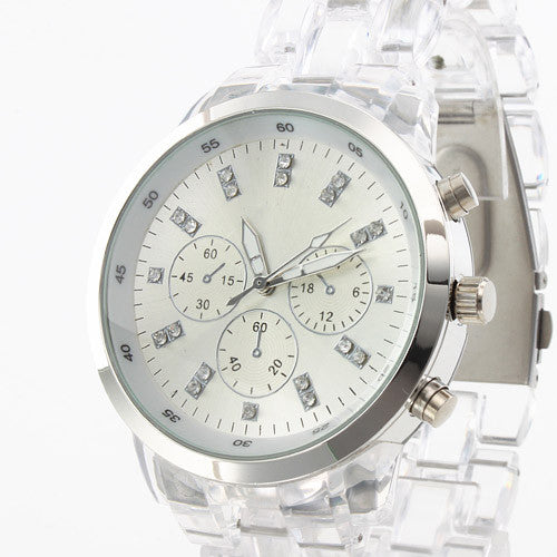 Crystal Clear Women's Luxury Brand Quartz Watch