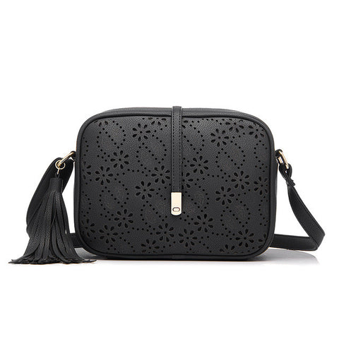 Brand Women Crossbody Bags For Women Crocodile Pattern With Tassel