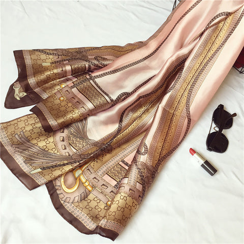 Brand Summer Women Long Print Scarf Quality