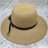 Summer Chic Wide Brim Beach Hat