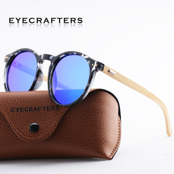 Eyecrafters Natural Bamboo Sunglasses Polarized Men