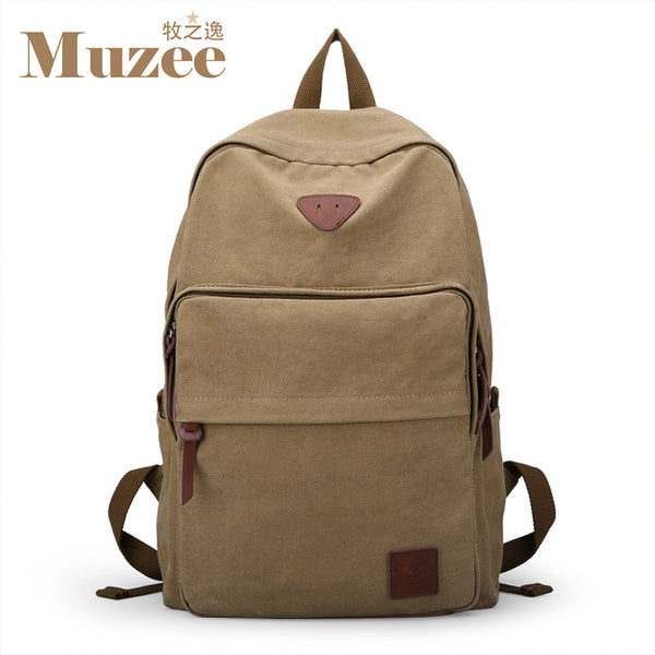 Muzee Hot Sale 2017 New Fashion Arcuate Leisure Men's Backpack