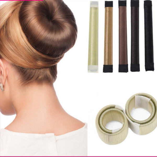 The perfect bun maker for hair styles, and great for Hair Bun Maker French Twist Hair Fold Wrap Snap (1 Brown, 1 Light Brown) by K-Beauty. $ $ 6 99 ($/Count) FREE Shipping on eligible orders. out of 5 stars Product Features A simple accessory to make a perfect bun .