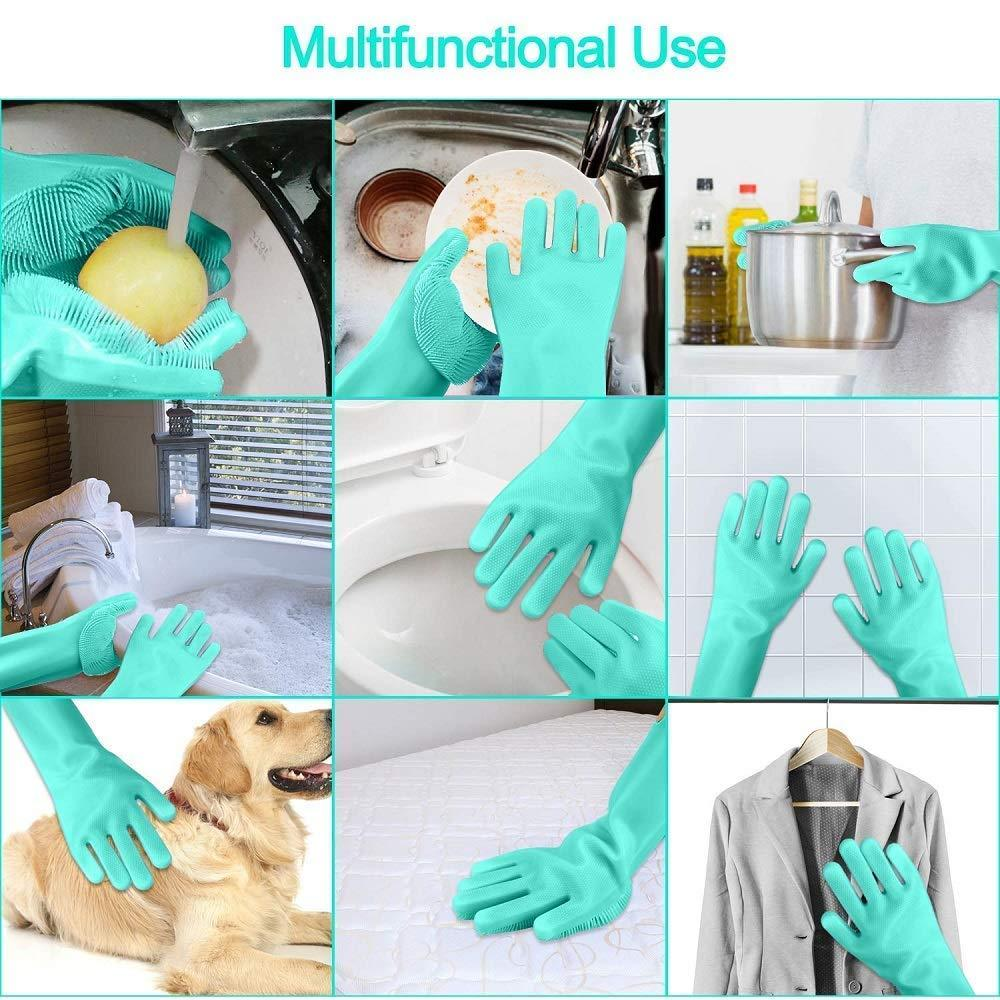 Master Silicone Dish Washing Gloves