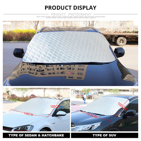 Insulate Car Windows: THERMAL INSULATION CAR COVER